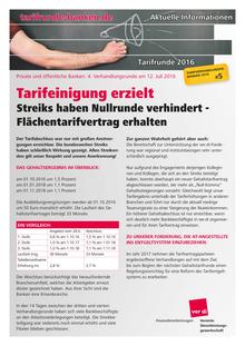Tarifinfo Banken (05/2016) vom 12.07.2016