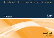 Seminare für Interessenvertretungen 2017 in Hessen