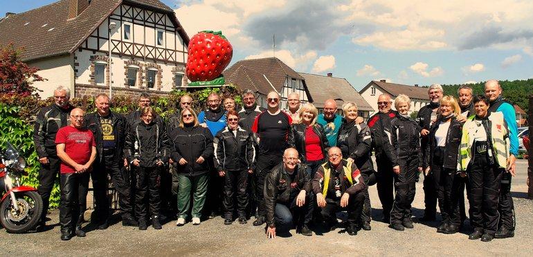 8. Motorradtour des ver.di Bezirk Nordhessen