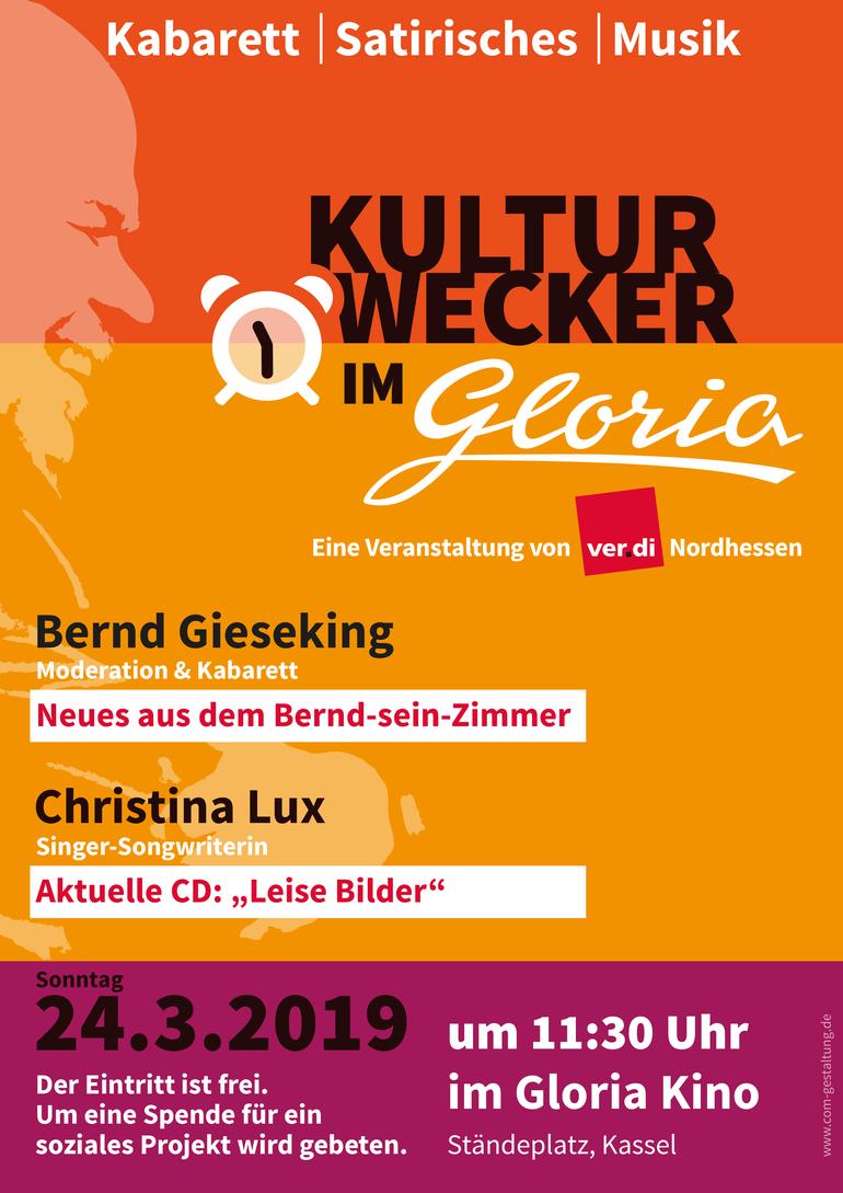 Kulturwecker 2019 im Gloria