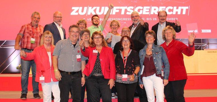 Unsere Delegierten auf dem 5. ver.di-Bundeskongress