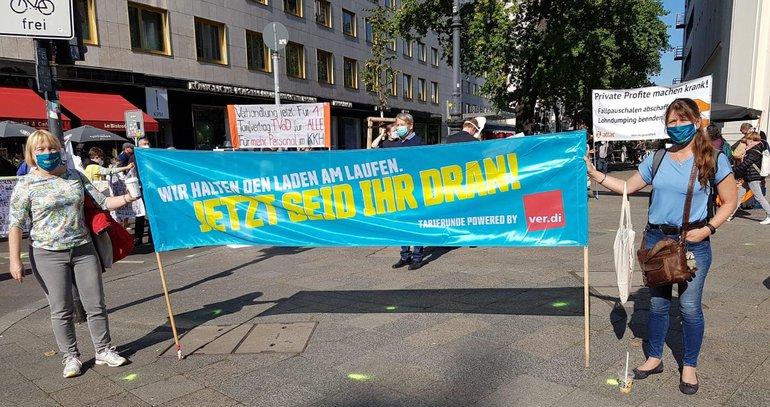 Applaus war gestern: Streik am 30.09.2020 für mehr Wertschätzung und Respekt