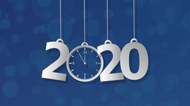 2020 Jahreswechsel Neujahr